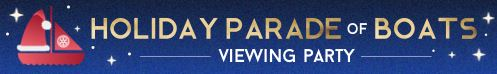 Parade of Boats Viewing Party Logo
